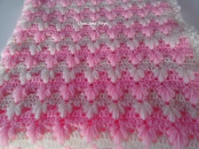 Puff Stitch Baby Blanket Pattern - Mobile Resources