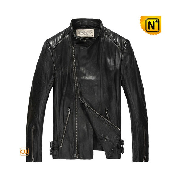 Genuine Moto Leather Jacket for Men CW850231