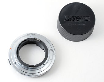 Tamron Adaptall 2 Contax / Yashica Mount Coverter with End Cap C/Y Mount