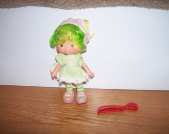Strawberry Shortcake Vintage Dolls Strawberryland Lime Chiffon