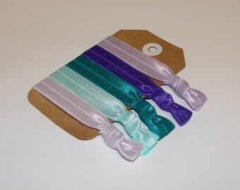 Set of 5 Elastic Hair Ties, Hair Ties for Girls, Elastic Hair Ties