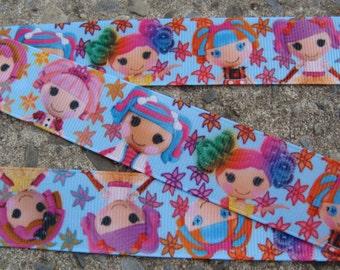 """3 yards Lalaloopsy Ribbon Printed Ribbon 1"""" Grosgrain ribbon hair bow ribbon"""