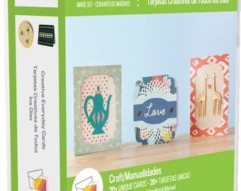 Cricut 20-02353 Creative Everyday Cards Cartridge