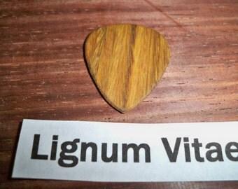 Lignum Vitae Guitar Pick