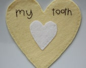 my tooth - tooth pocket in buttercup yellow