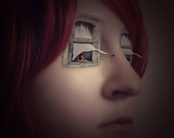 Windows to the Soul - LIMITED EDITION, Matted Print, Surreal, Whimsical, Fine Art Photography