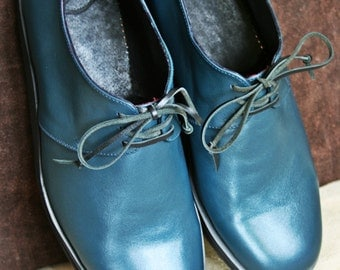 SALE! Handmade leather derby shoes