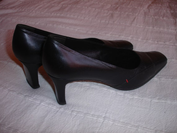 items similar to lloyd vintage shoes made in germany black leather women shoes on etsy. Black Bedroom Furniture Sets. Home Design Ideas