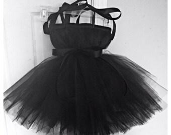 Audrey Hepburn tutu dress, newborn-4, can change tulle colors