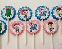 x24 Sheriff Callie's Wild West Inspired Cupcake Toppers