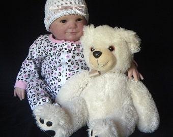 CHRISTMAS IN JULY Eliza by Donna Rubert Custom Reborn Doll Little Darlins Nursery Rita Meese Artist