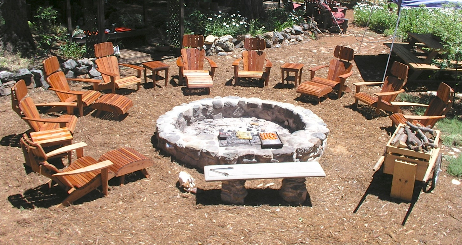 Custom Fire Pits : Custom fire pits designed to cook on open pit cookery real