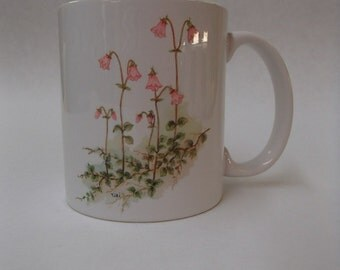 Scandinavian Swedish Linnea Flowers Mug #298