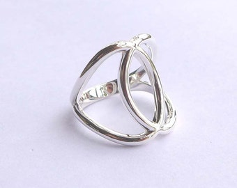 Unique Sterling Silver Ring All Sizes