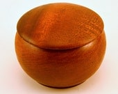 RESERVED FOR KARIN: vintage small round lidded box