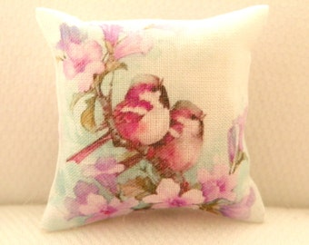 dollhouse miniatures pillow