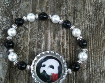 "Hand Made ""Phantom of the Opera"" Charm Bracelet"
