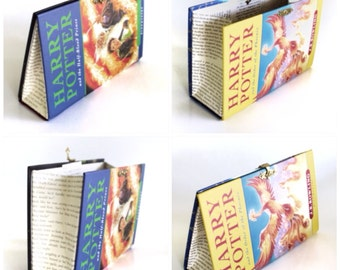 2 x Geeky Book Clutch Harry Potter and the Order of the Phoenix and Half-Blood Prince Purses
