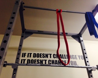 fitness motivation wall decal home gym decorjandicographix