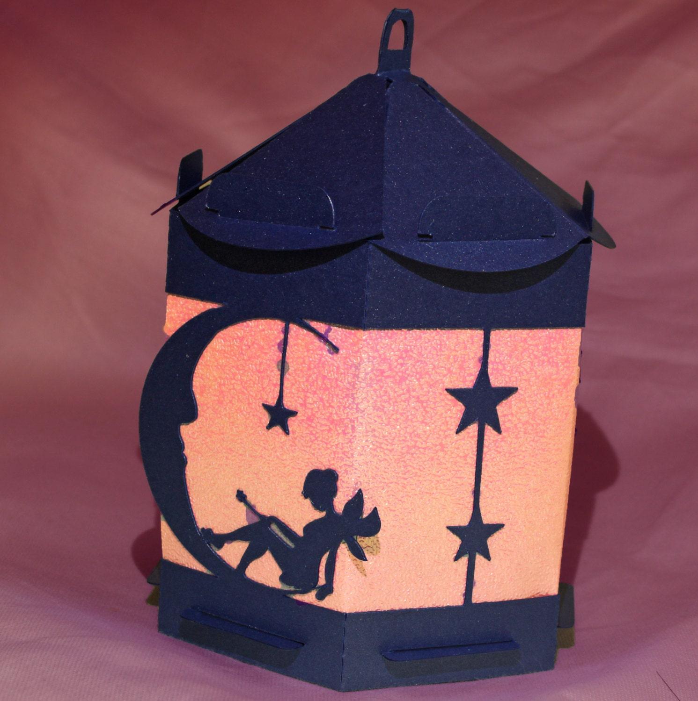 3d Svg Fairy On Moon Lantern Digital Download Svg