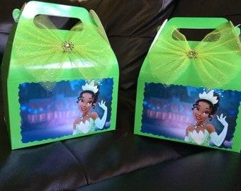 Disney Princess and the Frog Tiana Birthday favor Box