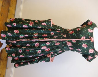 50's Victor Josselyn dress. Lily Pond.