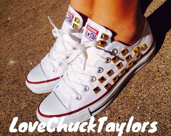 Studded Converse Chuck Taylor All Stars Shoes