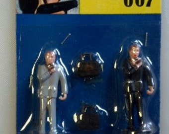 Secret Agent 007 Cake Topper - Figurines