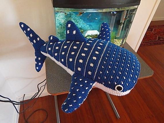 Whale Shark Amigurumi : Amigurumi Crochet Pattern Whale Shark Pattern No.32