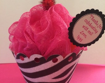 Cute little cupcake or ice cream party favors