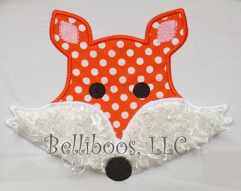 Fox Applique Design - Fox Embroidery Design - Applique Design - Embroidery Design - Animal Applique Design - Animal Embroidery Design