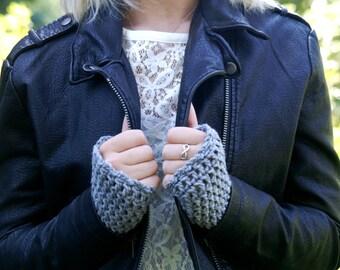 Fingerless Gloves - Arm Warmers -26 COLORS - handmade/women//tan/crochet gloves/oatmeal/knit/stretchy/cozy/warm/winter/chunky/wristwarmers