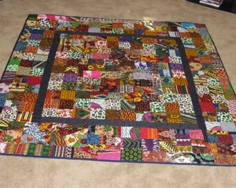 Patch work Quilt or wall hanging