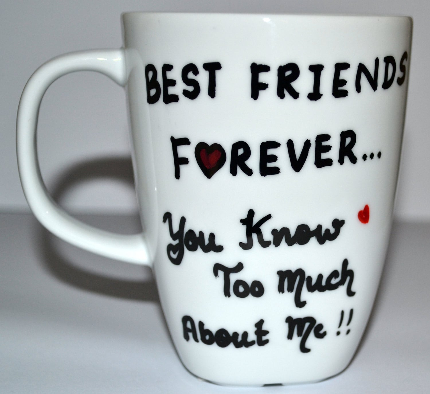 best friends forever mug bff funny gift for by dreamandcraft