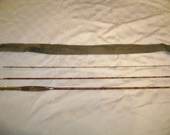 Antique Split Bamboo Fly Fishing Rod