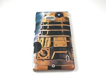 Dalek Dr Who Nokia Lumia 521 Hard Shell Case Skin Cover