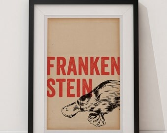 Frankenstein - Universal Monsters 12x18 Poster