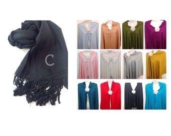 HOLIDAY SALES Wedding scarf shawl/ wedding shawl / bridesmaid shawl/ wedding favor gift/ valentines git idea / fashion scarf /pashmina shawl