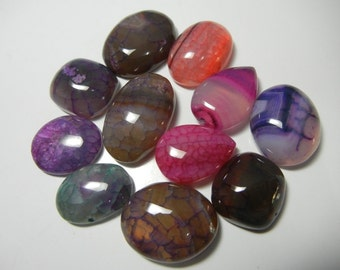 Beautiful Rare Banded Onyx Gemstone Cabochon