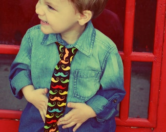 Mustache Tie for your Little Man