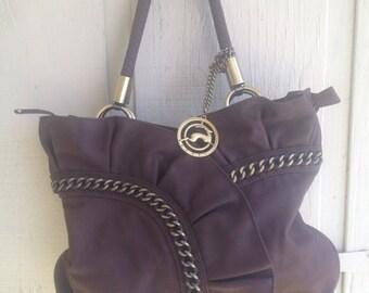 Beautiful Koret brown leather shoulder bag