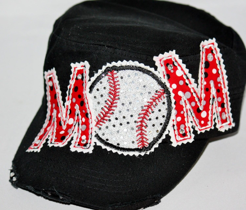 baseball hat custom baseball hat embroidered by spiritloft