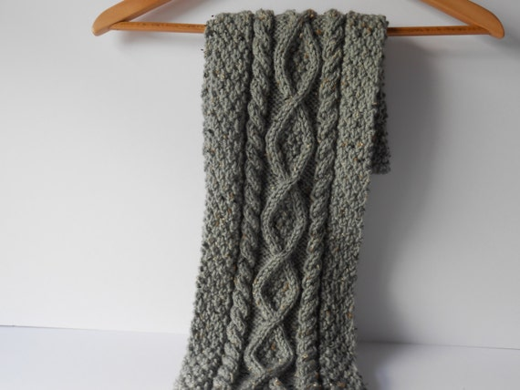 Latest Hand Knitted Scarves For Men For Winter