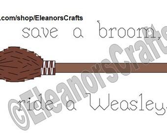 Funny Harry Potter Cross Stitch Pattern