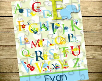 Personalized Children's Puzzle - Personalized Puzzle - Alphabet - Name Puzzle - Create Your Own
