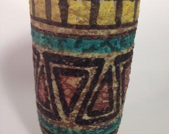 Italian Mid Century Vase in Raymor style.