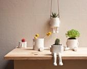RESERVED for Kata - Ceramic pot basic - Sitting - pack 5