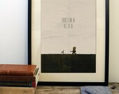 Where The Wild Things Are poster, minimalist movie poster wilderness adventure