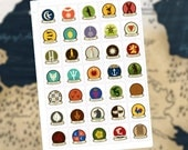 Game of Thrones Sigil Stickers (70 stickers)