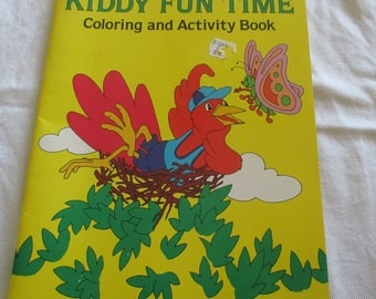 Kiddy Fun Time Coloring and Activity Book